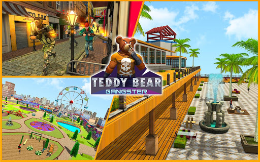 Teddy Bear Gun Strike Game: Counter Shooting Games apkmr screenshots 12