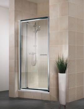 Porte de douche pivotante en niche Vita, 69 - 81 cm, 79 - 91 cm ou 89 - 101 cm