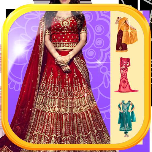Lehenga Choli Suit Photo Maker (app)