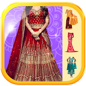 Lehenga Choli Suit Photo Maker