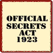 The Official Secrets Act 1923