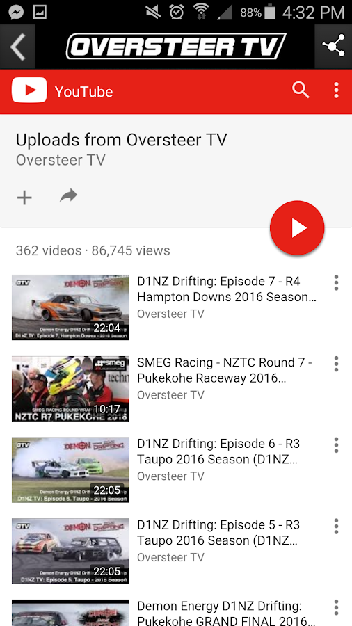 Oversteer TV- screenshot