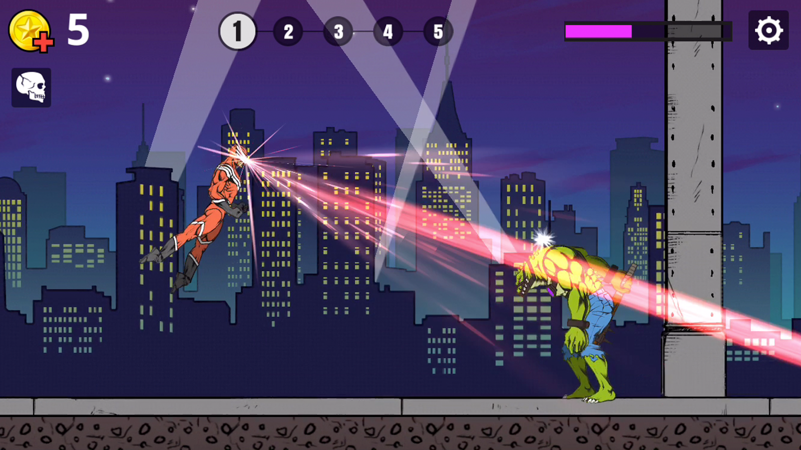Limp Heroes - Physics Action!- screenshot