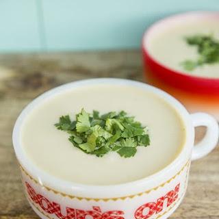 Easy Potato Leek Soup.