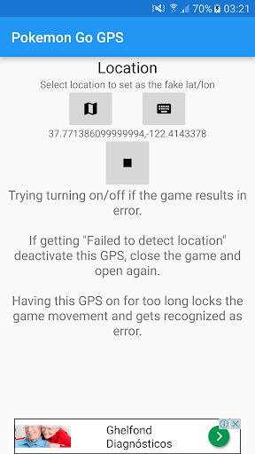 Download Fake GPS for Pokemon GO Google Play softwares