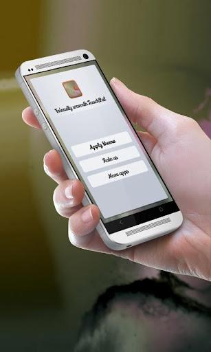 フレンドリーな暖かさ TouchPal