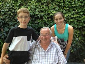 Photo: The kids will miss Onkel Dieter