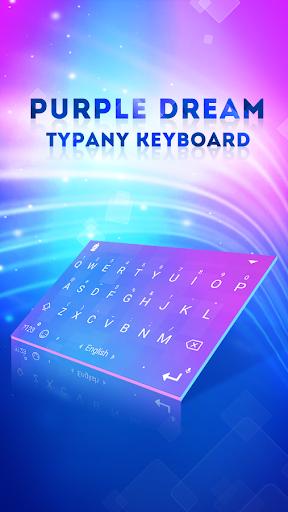 mod Purple Dream Typany Keyboard 4.5 screenshots 1