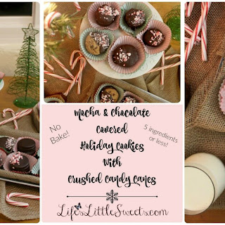 Mocha and Chocolate Covered Holiday Cookies