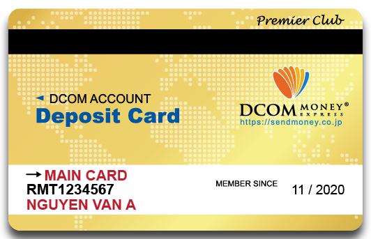 Thẻ vàng Dcom