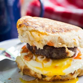 Campfire Breakfast Burger.
