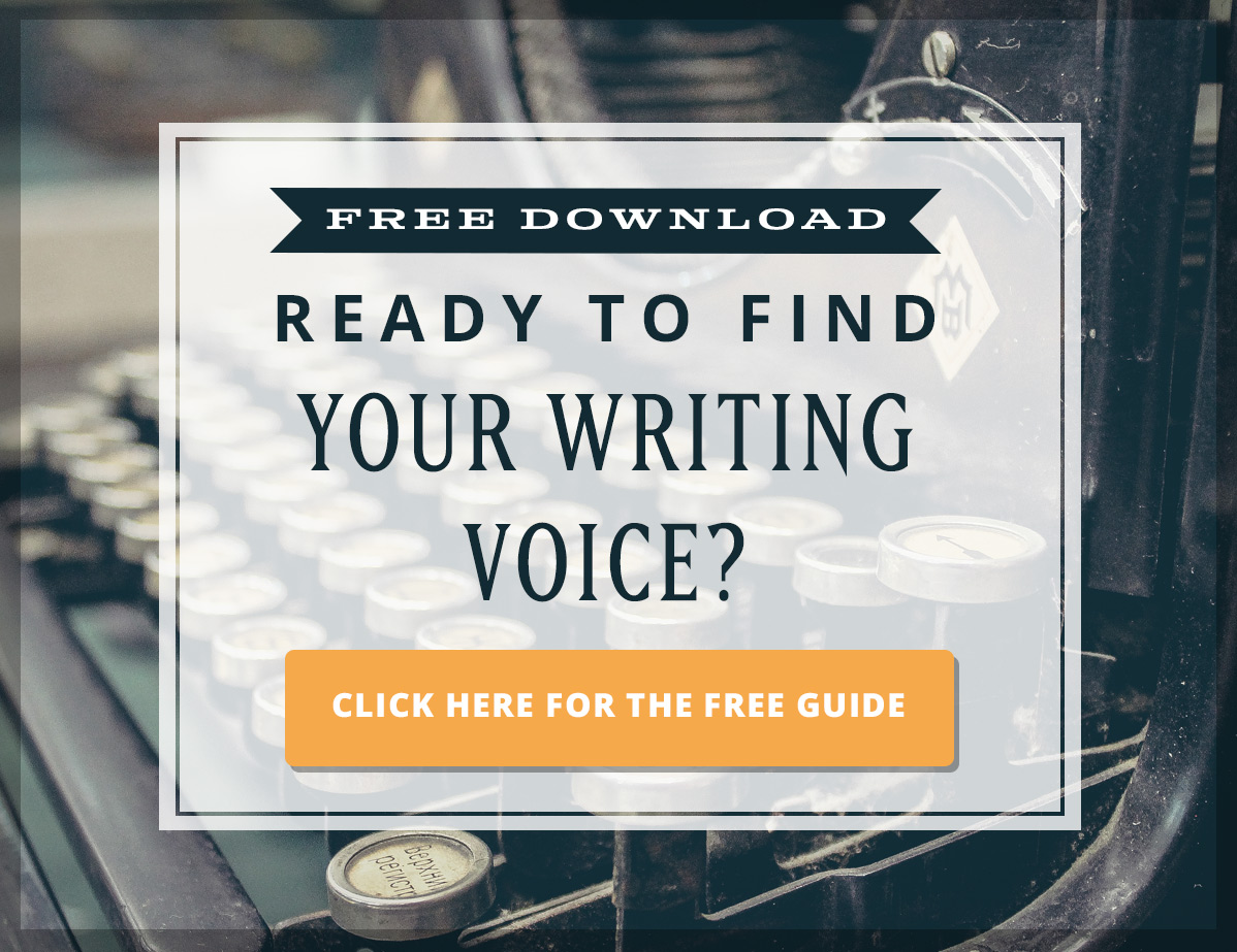 Ready to find your unique writing voice?