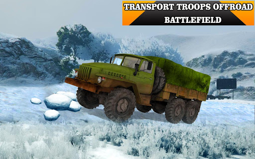 Army Truck Driving Simulator 3D:Offroad Cargo Duty