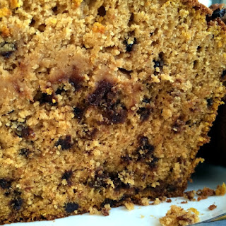 Pumpkin Chocolate Chip Bread Recipe, GlutenFree & DairyFree