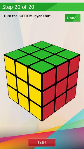 3D-Cube Solver 1.0.2 screenshots 8