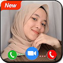 Video Call Sama Nissa Sabyan Simulasi - Prank Call icon