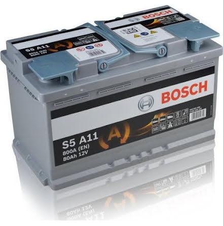 Startbatteri Bosch AGM12V/80Ah