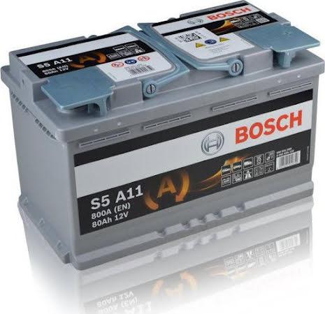 Bosch AGM12V 80Ah - Startbatteri
