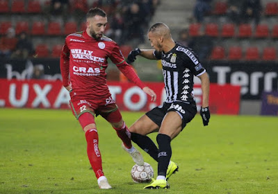 David Henen werd met krampen vervangen in Zulte Waregem - Charleroi