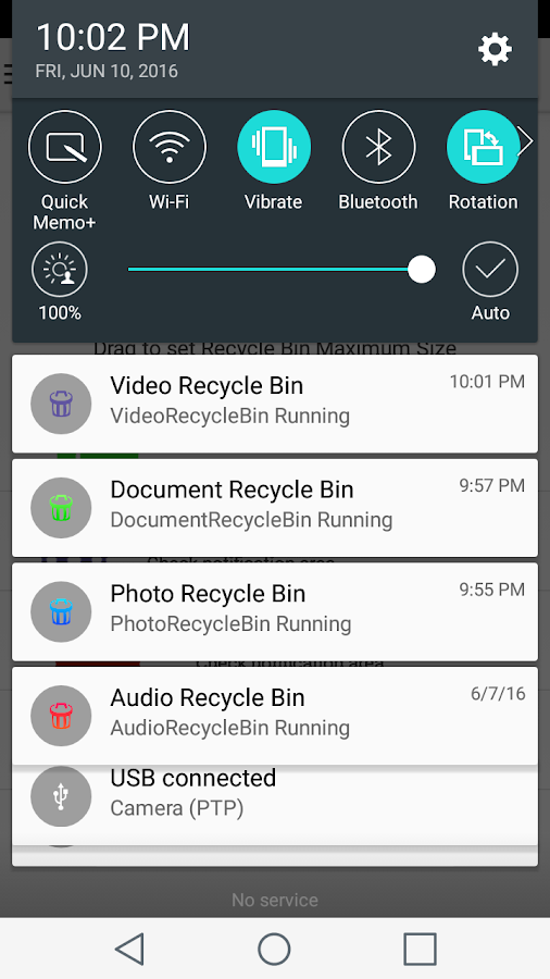 Photo Recycle Bin- screenshot