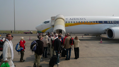 Photo: We fly from New Delhi to Katmandu