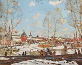 """Photo: Konstantin Yuon, """"Il monastero a Zagorsk"""" (1911 ca.)"""
