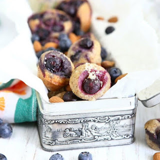 Brown Butter Toasted Almond Blueberry Friands Recipe