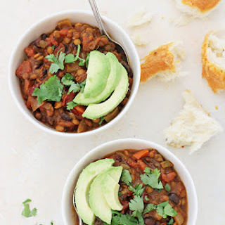 Vegetarian Pumpkin Lentil Chili Recipe