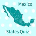Mexico States & Capitals Map Quiz icon