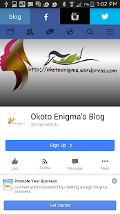 Okoto Enigmas Blog- screenshot thumbnail