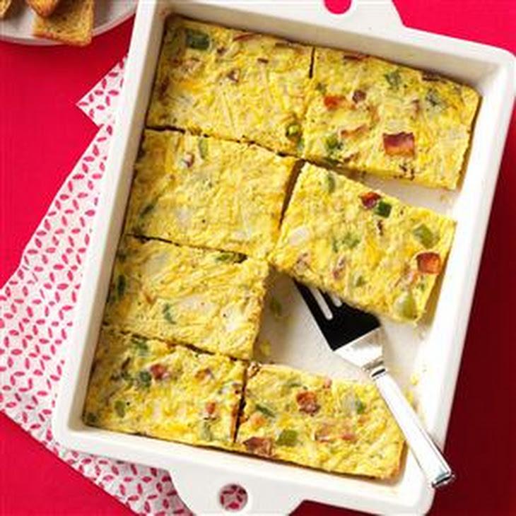Sunday Brunch Egg Casserole Recipe | Yummly