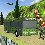 Army Bus: Military Coach Driving Game