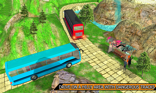 Offroad Bus Simulator 3D 2018 cheat screenshots 3