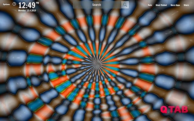 Hypnotizing New Tab Wallpapers
