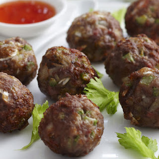 Chinese Meatballs.