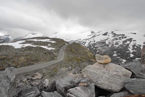 Strada di montagna norvegese di @7516cc