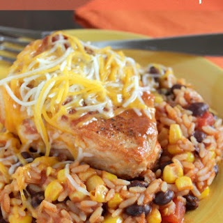 One Pan Mexican Pork Chops