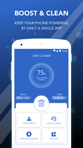 Screenshot for Card Cleaner - Memory cleaner & Trash removal in Hong Kong Play Store