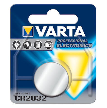 Litiumbatteri CR 2032