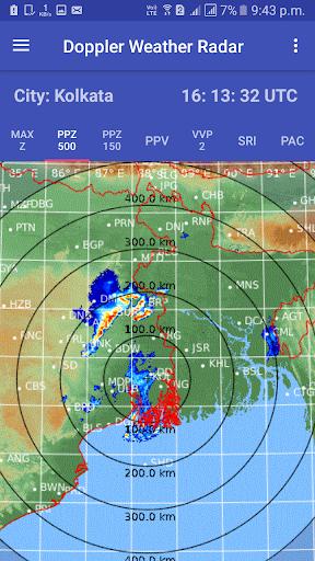 satellite weather & radar india screenshot 2