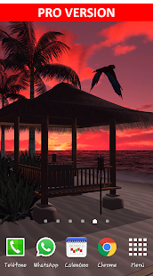 Beach In Bali 3D FREE LWP- screenshot thumbnail