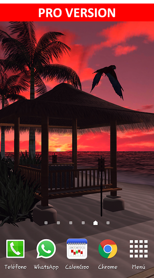 Beach In Bali 3D FREE LWP- screenshot