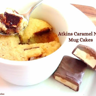 Atkins Caramel Nut Mug Cakes
