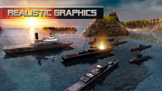 Submarine Simulator : Naval Warfare MOD (Unlimited Money) 1