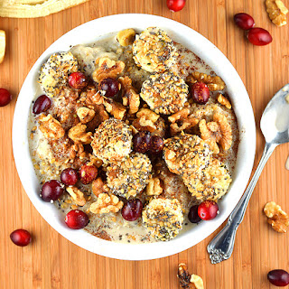 Vegan Steel Cut Oatmeal Bowl