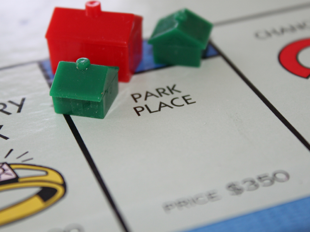 property management is just like playing monopoly