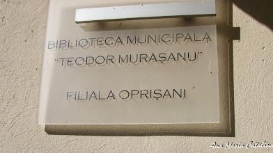 "Photo: Biblioteca Municipala ""Teodor Murasanu"" filiala Oprisani - Str. Tineretului, Nr.6 -  2013.09.28"