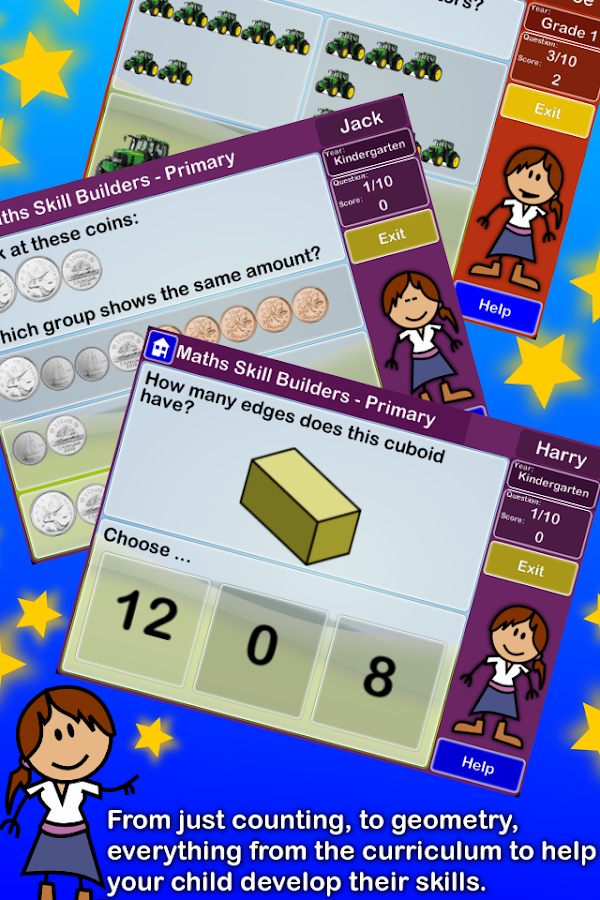 Maths Skill Builders - Canada- screenshot