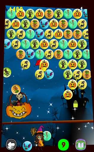 玩免費休閒APP|下載万圣节游戏:泡泡射击 Halloween game app不用錢|硬是要APP
