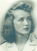 Photo: 2LT Nancy Leo, a nurse, and the only woman in the cemetery. Died after a jeep accident in July 1945. Grave H-9-71.